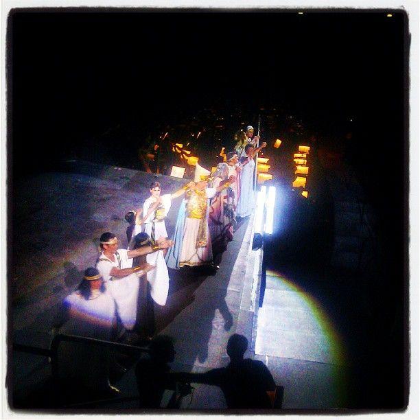 #Aida via Instagram photo by @davidebonassi