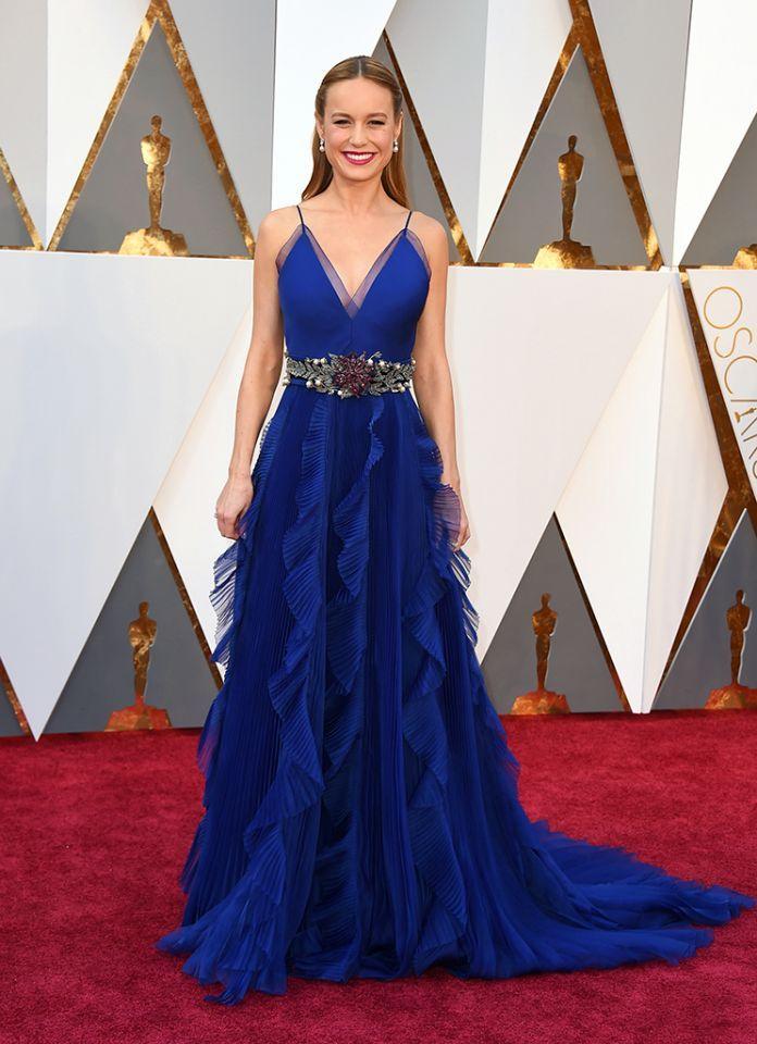 Brie Larson in Gucci, Oscars 2016
