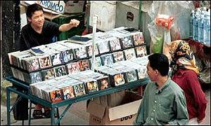 One of the earliest online reports of the 'Korean Wave', this article shows that by 2001 a huge demand for South Korean movies and music was prevalent in Asia. This popularity has resulted in a proliferation of boot-legging or the illegal copy and sale in the form of CD's and DVD's. In order to regain profits, the music and movie industry must address these problems of copyright infringement, piracy and illegal distribution.