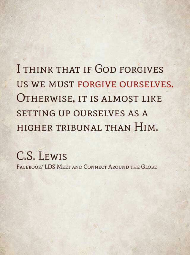 cs lewis essay forgiveness C s lewis writes about the problem of forgiveness:    you must make every effort to kill every taste of resentment in your own heart—every wish to humiliate or hurt him or to pay him out.