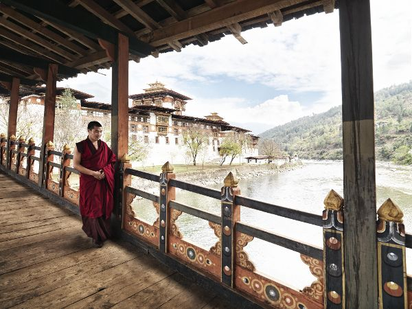 Bhutan - where gross national happiness is more important than GNP :) Punakha Dzong - Lonely Planet