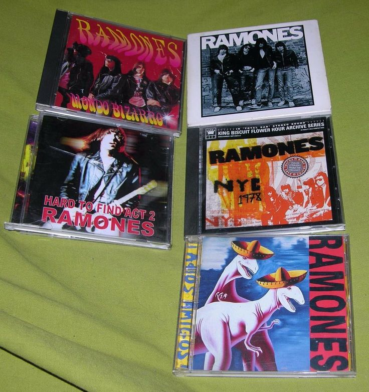 RAMONES CD LOT 1978 NYC KING BISCUIT HARD TO FIND ADIOS AMIGOS MONDO BIZZARRO