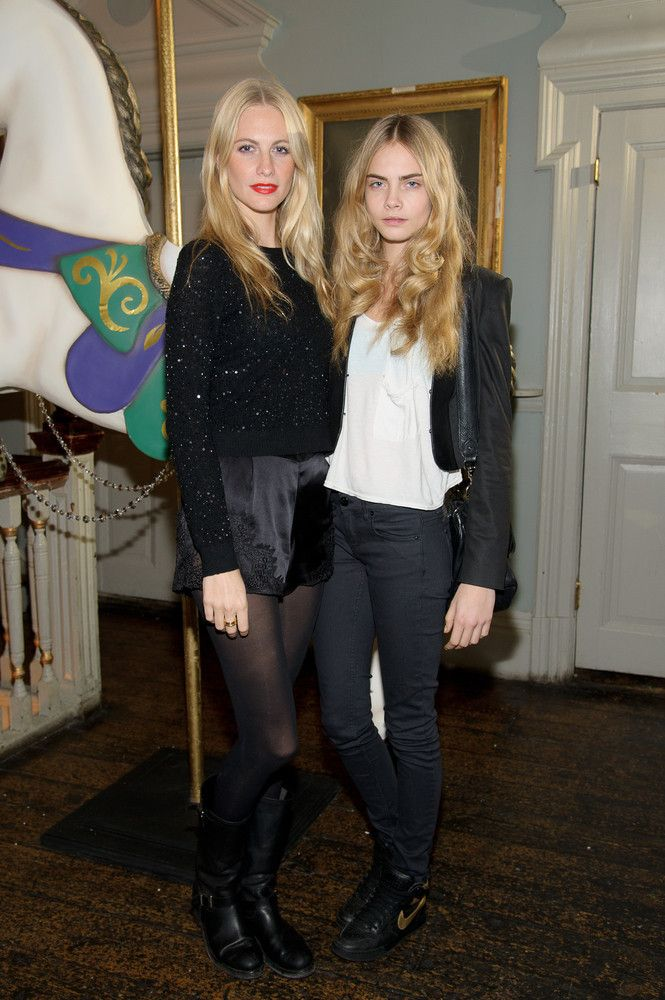 These Celebrities Have Ridiculously Good Looking Siblings, Yet We're Not Surprised - Poppy and her sister Cara Delevingne