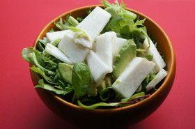 長芋とアボカドのゆずサラダ