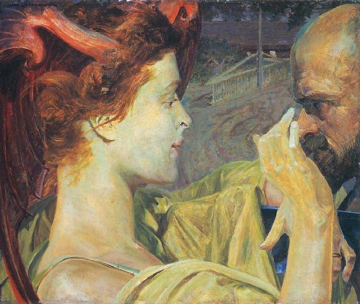 'Thanatos', 1911 - Jacek Malczewski
