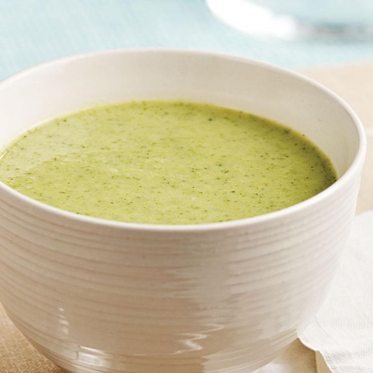 Try this easy broccoli soup alongside grilled cheese sandwiches or as a starter for a simple supper.