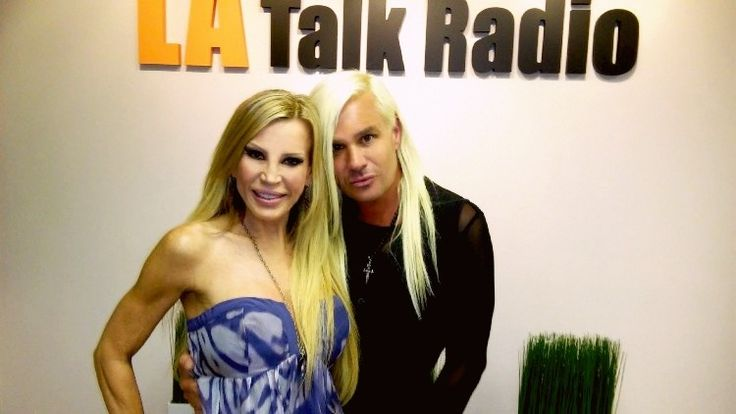 "Daniel DiCriscio & Amber Lynn.  Daniel DiCriscio was a celebrity guest on Amber Lynn's ""Rock N SeXXXy Uncensored"" show on LA Talk Radio."