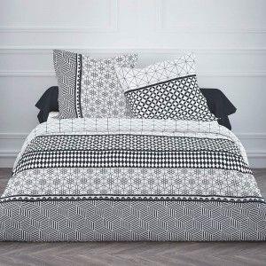 housse de couette kirsten 220 x 240 en coton maison deco scandinave pinterest housses de. Black Bedroom Furniture Sets. Home Design Ideas