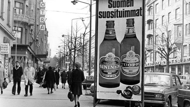 Keskiolutmainos, 1960.