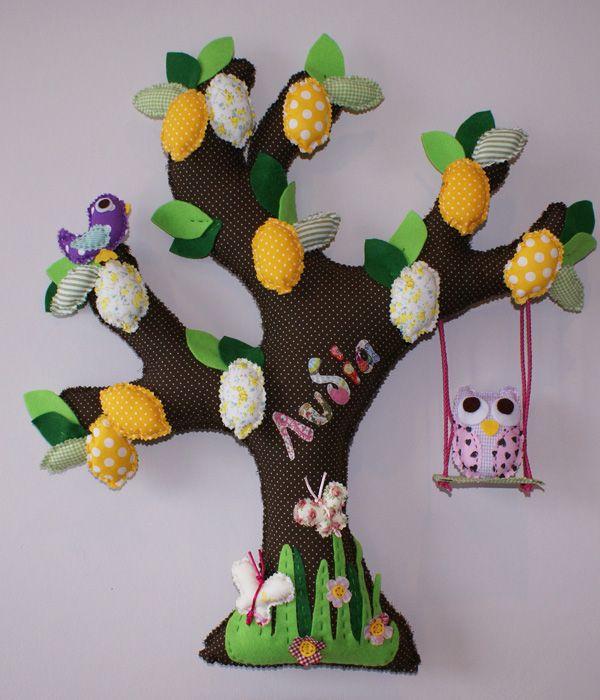 LEMON TREE, made of fabric