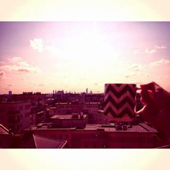 #warsaw #poland #morning #coffee #sky