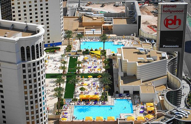 1000 Images About Pleasure Pool At Planet Hollywood Hotel