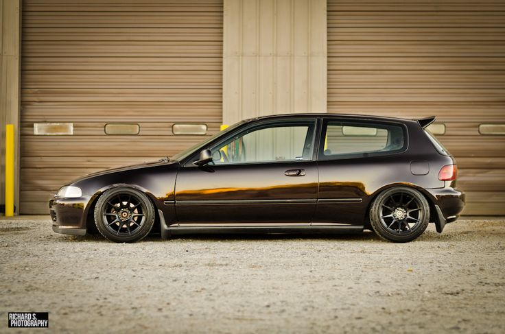 Georges Honda Civic EG Hatch via Richard S. Photography on Flickr. I wish my EG looked like this! I will fix the Honda cancer and get a fresh paint job one day!