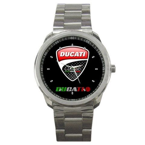New Ducati Corse logo sport watches by hariharilaku on Etsy