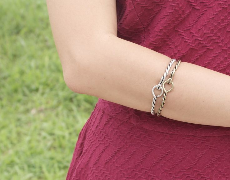 Twisties Bracelets from Gold x Silver Collection.