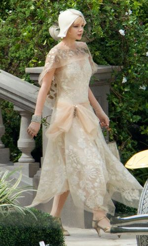 Carey Mulligan on the set of The Great Gatsby, February 9th, 2012 --- I am going to LOVE this movie
