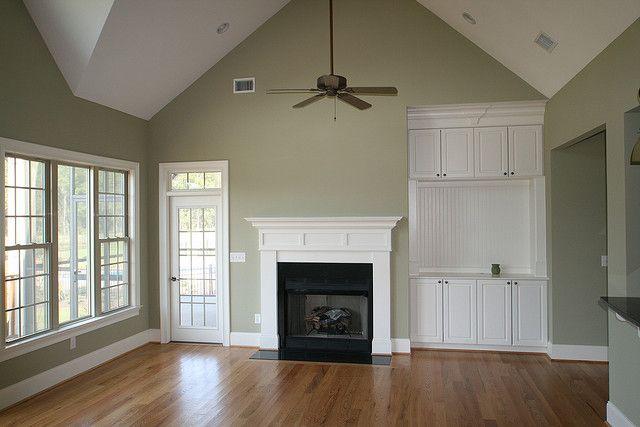 Grayish green livingroom