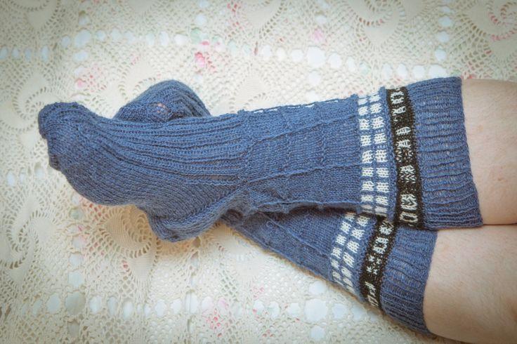 #DoctorWho #tardis #socks #DIY