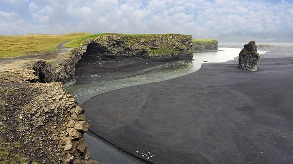 Best Unusual Beach: Vik, IcelandSands Covers, Sands Beach, Rock Formations, 110 Miles, Beach Arenal T, Road Trips, Jaws Drop Beautiful, Rocks Formations, Black Volcanic