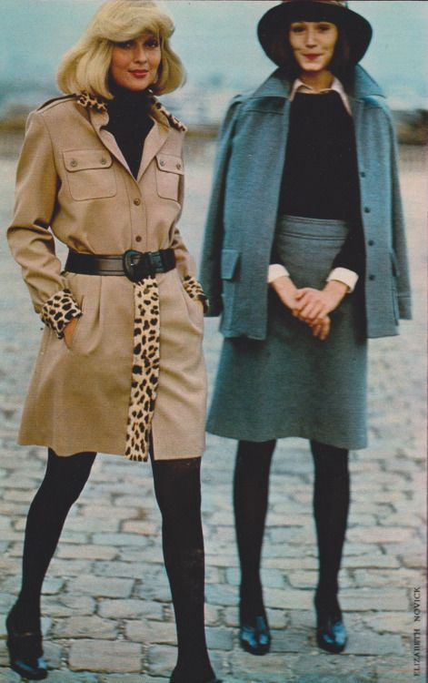 Fashion throughout the nineteen seventies - nineteen seventies Vintage Clothing