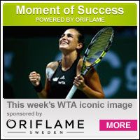 Monica Puig crowned another brilliant season with victory over Zheng Saisai at the WTA Rising Stars Invitational.