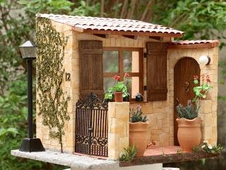 Minhas Minis - My Minis: 1:12 Casa Toscana - Tuscany House By Evelyne Martin