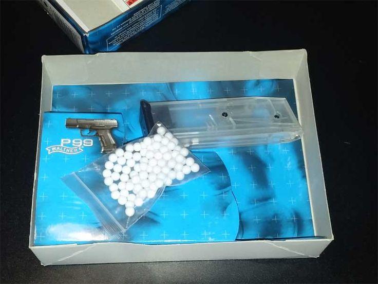 Walther P99 Umarex Lieferumfang Highcap & BBs