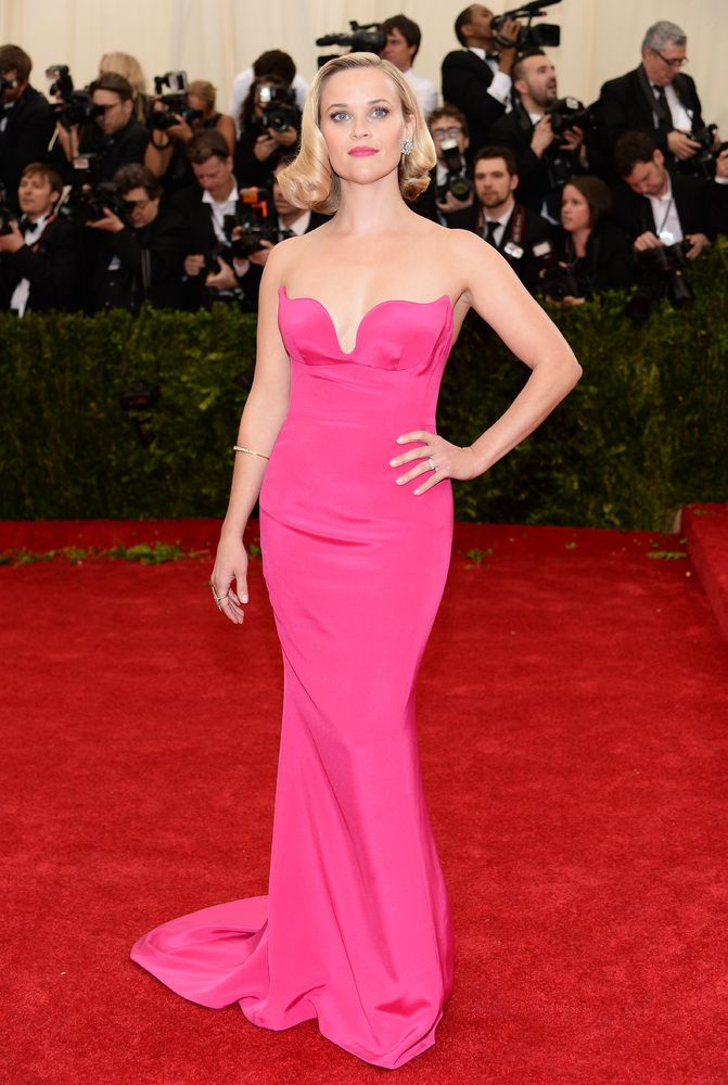 Reese Witherspoon in Stella McCartney at the 2014 Met Gala