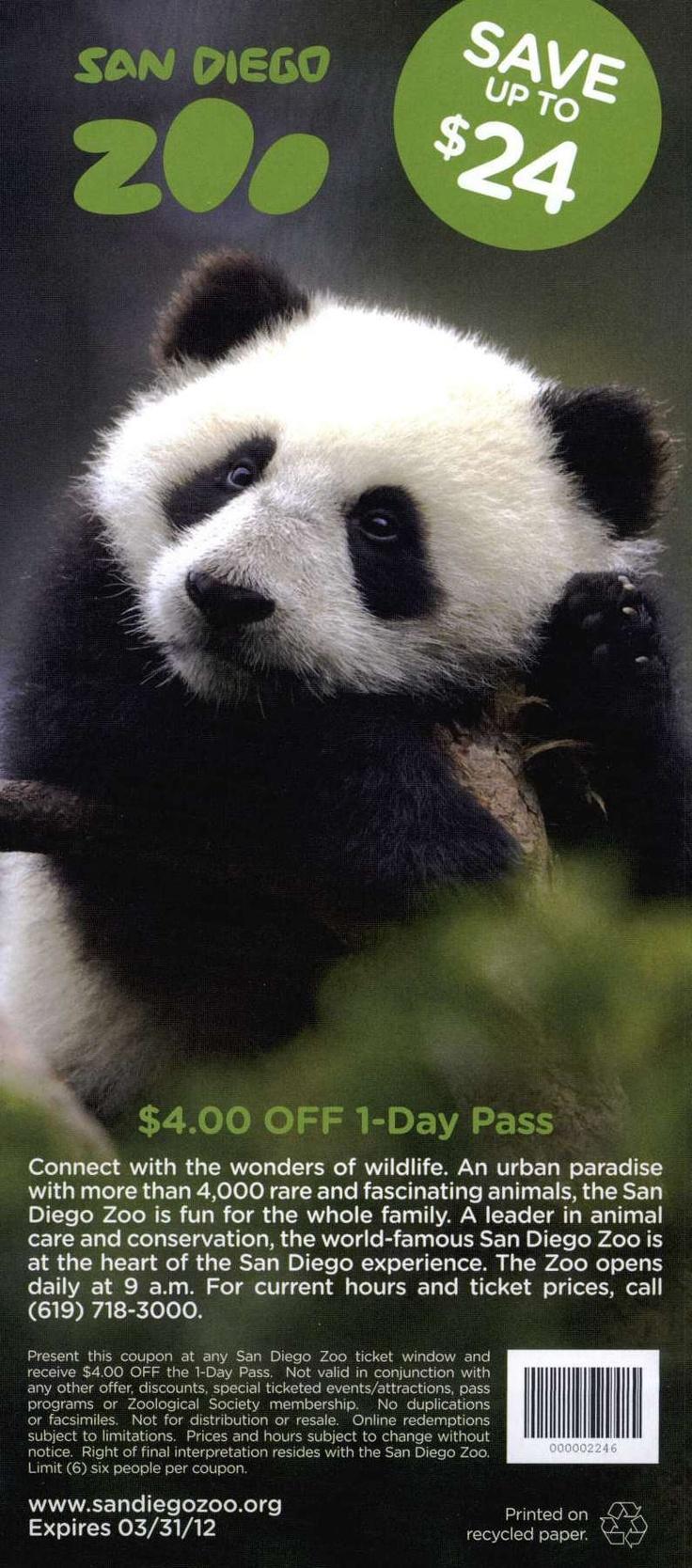 Santa barbara zoo discount coupons