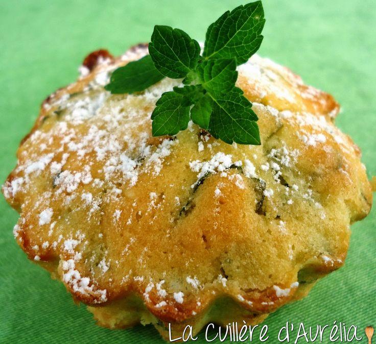 La Cuillère d'Aurélia: Cake à la mélisse
