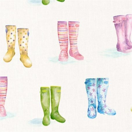 Welly Boots from Voyage Decoration   Wallpaper