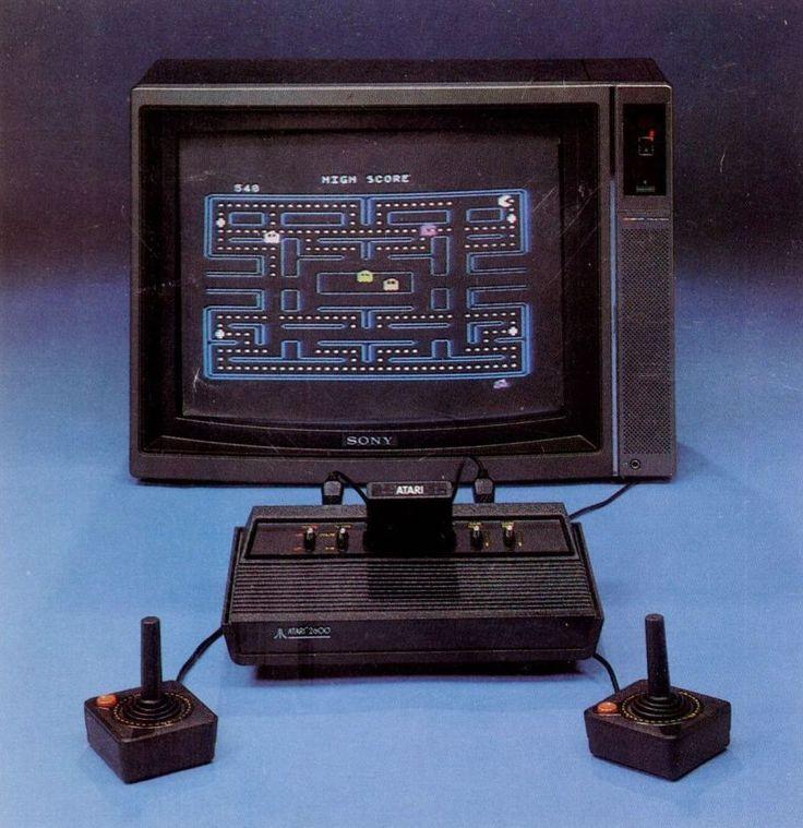 Atari....Pacman, joysticks, Frogger