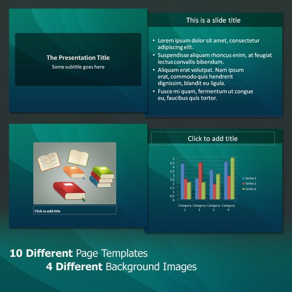 The Clean - Professional PowerPoint Template