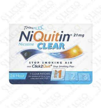 NIQUITIN CLEAR 7 MG/24 H 7 PARCHES TRANSDERMICOS