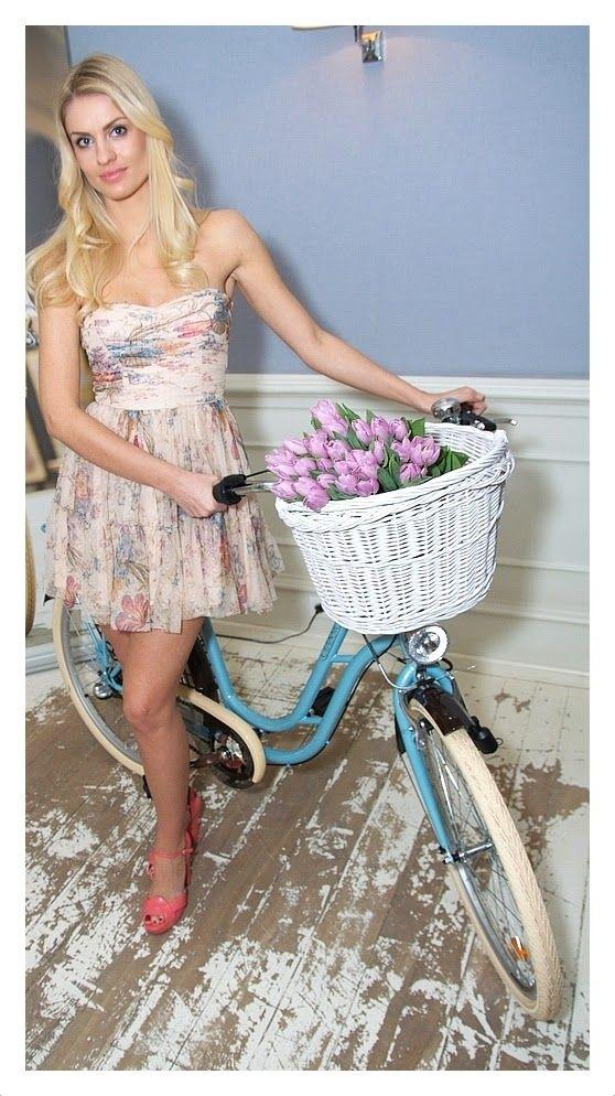 Beauty on a bike