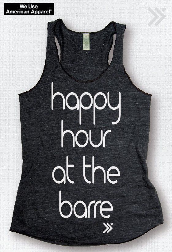 Happy Hour at the Barre Charcoal / White Workout Eco by everfitte, $26.00