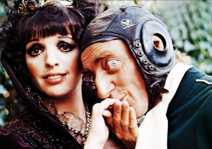 Silent Movie, 1976, Liza Minnelli and Marty Feldman 'Life literally abounds in comedy if you just look around you.' ~Film maker, Mel Brooks