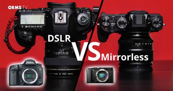 Not sure what's the difference between a DSLR and a Mirrorless Camera? Deon explains some of the basic differences and looks at the advantages of each.