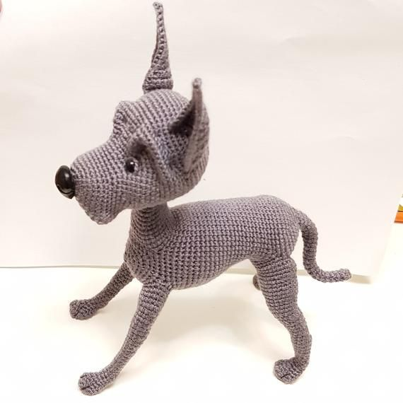 Great Dane Crocheted Copy Of This Dog The Perfect Pet Great Dane