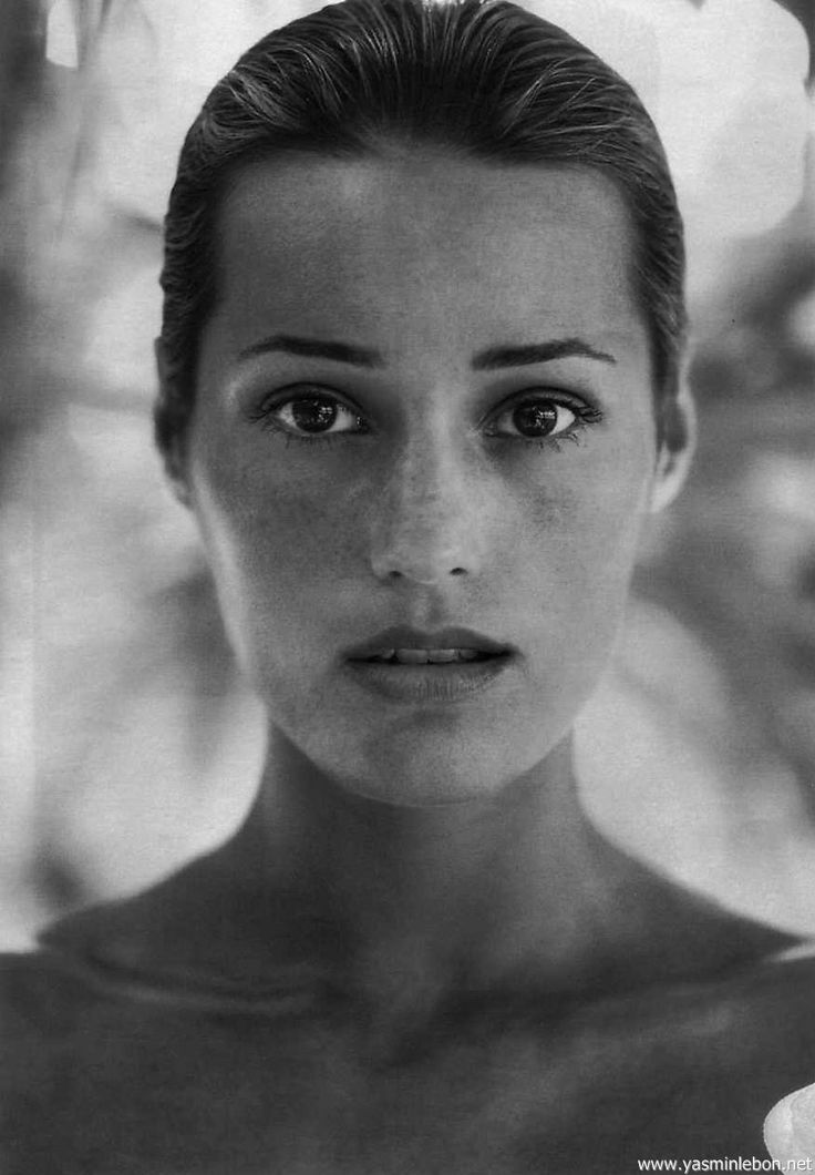 Yasmin Le Bon by Robert Erdmann Marie Claire March 1993