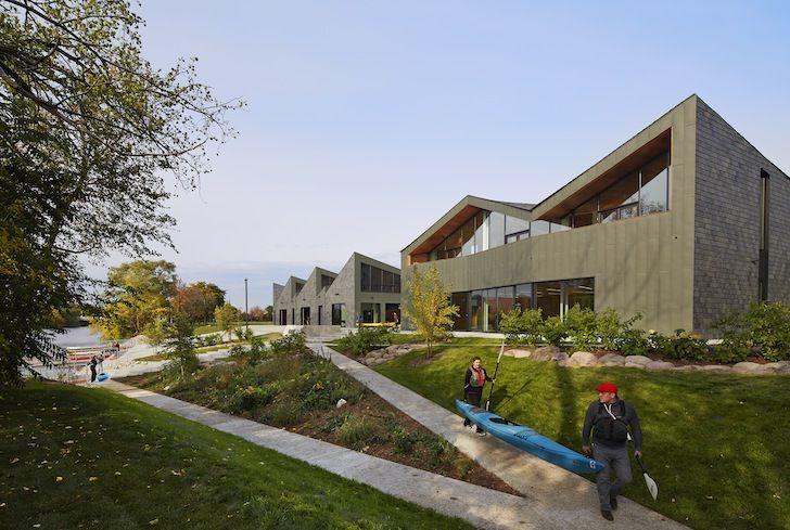 Studio Gang Architects Unveil Stunning Sawtooth-Roofed Boathou...