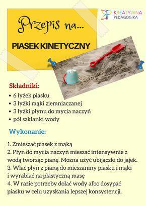 Przepis na piasek kinetyczny