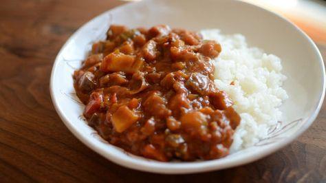 Curry di verdure, ricette vegane indiane con curry cumino, cibo indiano