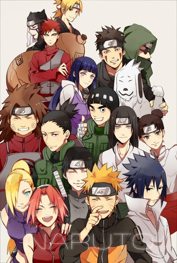 Konoha 12 Naruto Shippuden Anime Naruto Sasuke Sakura Anime Naruto