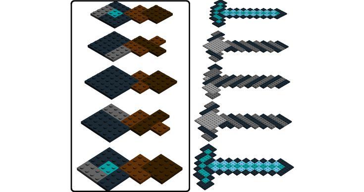 LEGO Ideas - Minecraft Diamond Sword