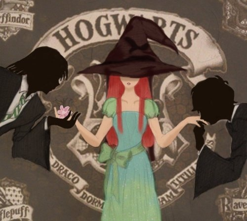wow... Severus, Lily, and James