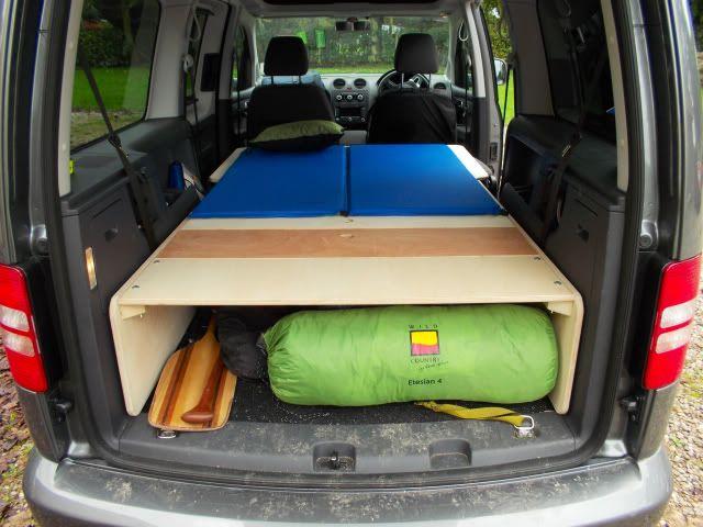 VW Caddy paddle wagon ...