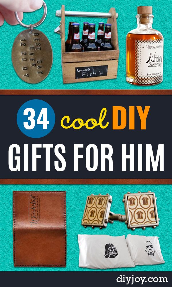 34 Diy Gifts For Him Diy Joy Pinterest Diy Gifts Gifts And