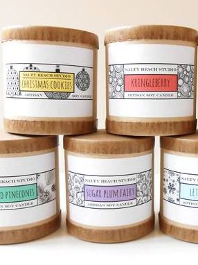 87 best Candle Labels images on Pinterest