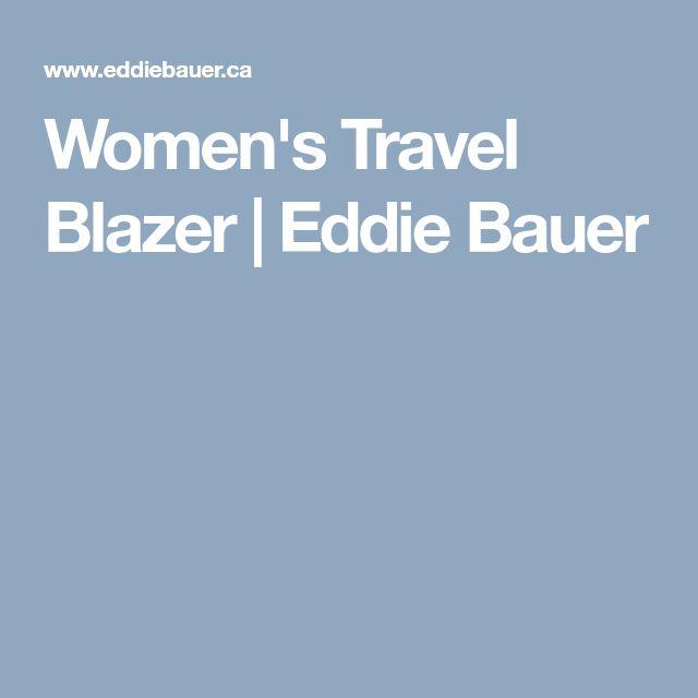 Women's Travel Blazer   Eddie Bauer